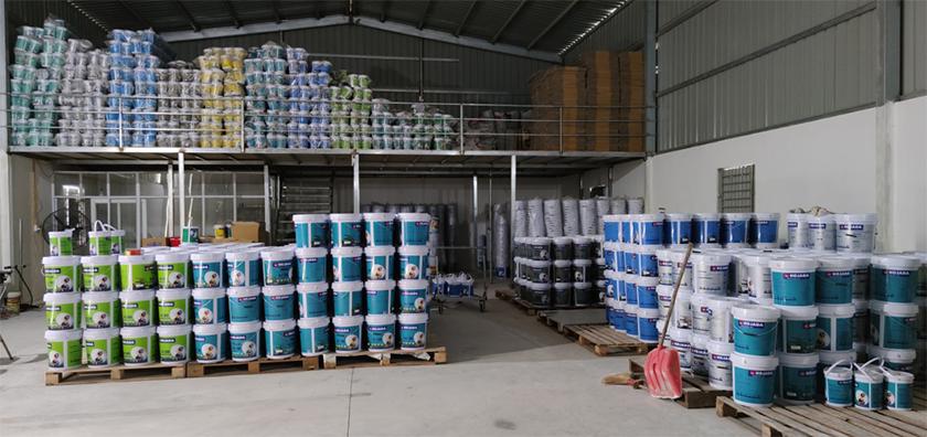 Xưởng sản xuất sơn nước
