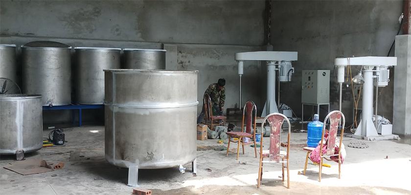 Xưởng gia công sơn nước