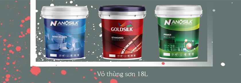 Sản xuất vỏ thùng sơn 1l, 5l, 18l
