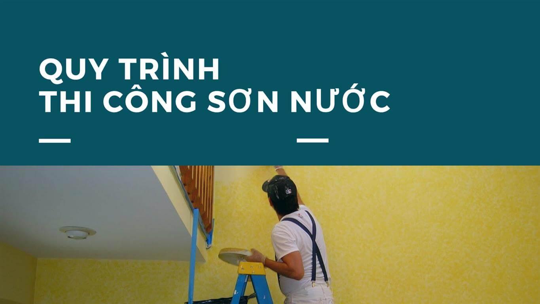 Kinh nghiệm thi công sơn