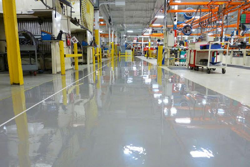 công nghệ sản xuất sơn epoxy